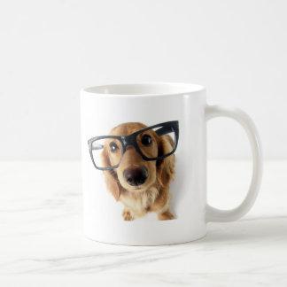 Lustiger Hund Kaffeetasse