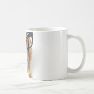 Lustiger Hund Tasse