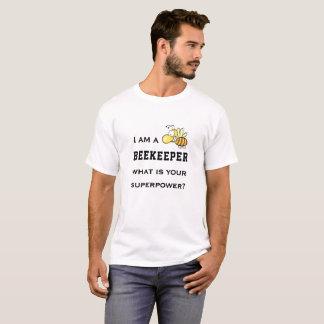 Lustiger Imker-Supermacht-T - Shirt