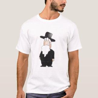 Lustiger jüdischer Rabbiner - cooler Cartoon T-Shirt