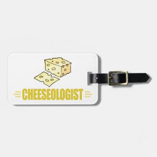 Lustiger Käse Gepäckanhänger