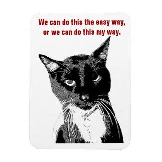 Lustiger Katzen-Magnet Eckige Magnete
