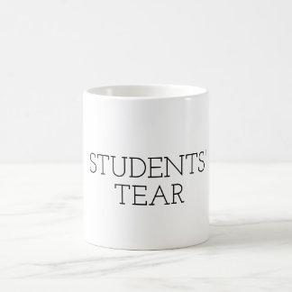 Lustiger Lehrer-Tassen-Geschenk STUDENTEN-RISS Tasse