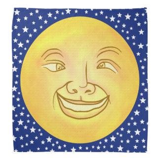 Lustiger Mond-Mann-Weltraum Vintag Halstuch