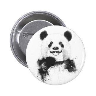 Lustiger Panda Runder Button 5,1 Cm