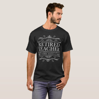 Lustiger pensionierter Lehrer T-Shirt