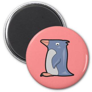 Lustiger Pinguin-Magnet Runder Magnet 5,1 Cm