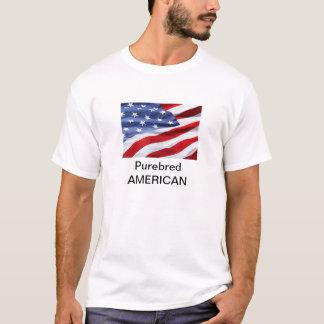 Lustiger reinrassiger Amerikaner T-Shirt