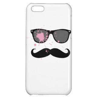 Lustiger Schnurrbart und Sonnenbrille iPhone 5C Hülle