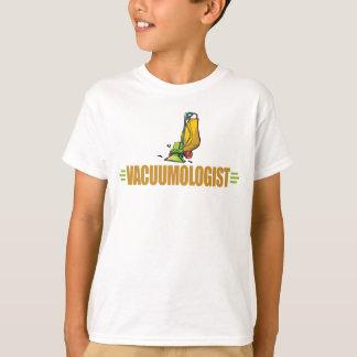 Lustiger staubsaugender Staubsauger T-Shirt