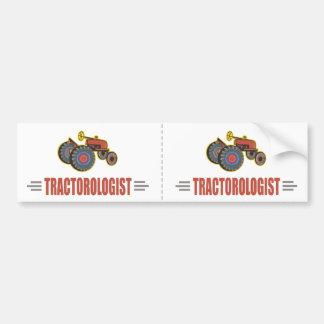 Lustiger Traktor Autoaufkleber