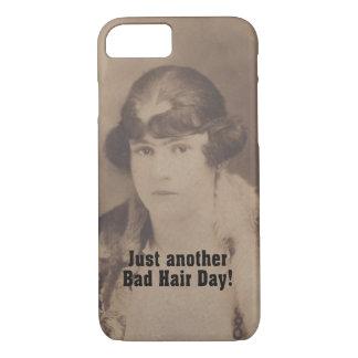 Lustiger Vintager Haar-Tag des Schlecht-1920 iPhone 8/7 Hülle