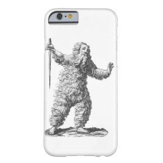 Lustiger wilder Mann auf randalieren - Barely There iPhone 6 Hülle