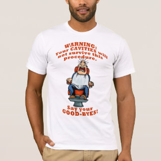 Lustiger Zahnarzt zahnmedizinisches Hygienst T-Shirt