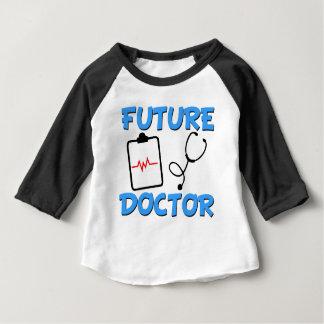 Lustiges Baby zukünftigen Doktors Baby T-shirt