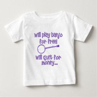 lustiges Banjo Baby T-shirt
