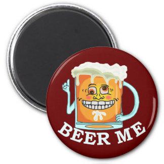 Lustiges Bier ich Magnet Runder Magnet 5,1 Cm