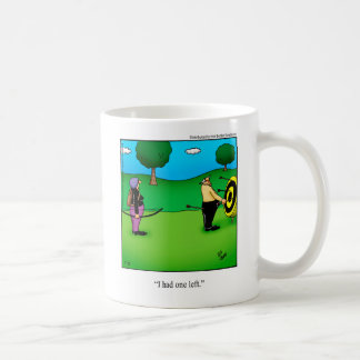 Lustiges Bogenschießen-Spaß-Tassen-Geschenk Kaffeetasse