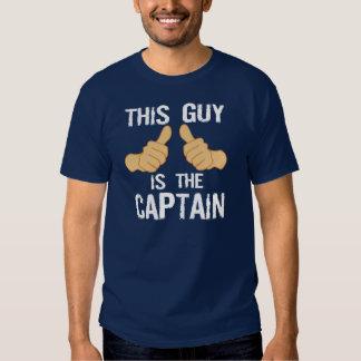 Lustiges Bootskapitän-Sprichwort T-Shirt