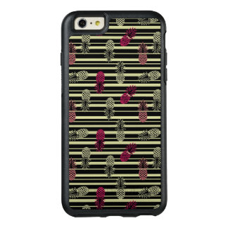 Lustiges buntes tropisches Ananas-Muster OtterBox iPhone 6/6s Plus Hülle