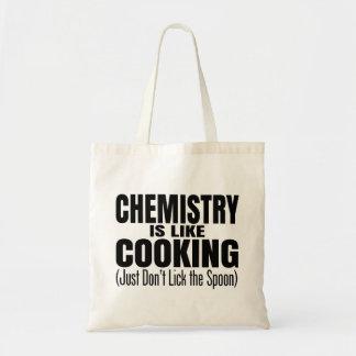 Lustiges Chemie-Lehrer-Zitat Budget Stoffbeutel