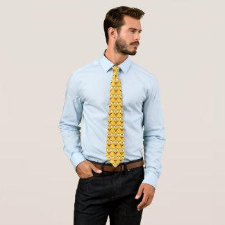 Lustiges Gesichts-Muster Individuelle Krawatte