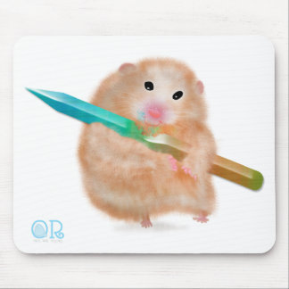 lustiges Hamster mousepad durch ORDesigns