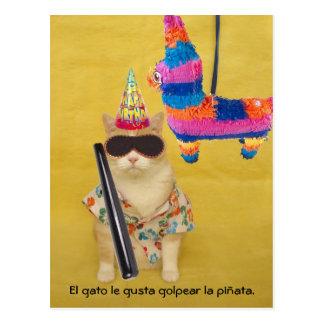 Lustiges Haustier-spanische Postkarten für Spaß od