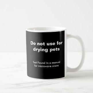 Lustiges Haustier-Thema Tasse