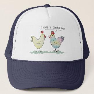 Lustiges Huhn war ein Osterei Truckerkappe