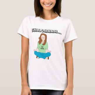 Lustiges jüdisches Yoga-Küken Shalommm T-Shirt