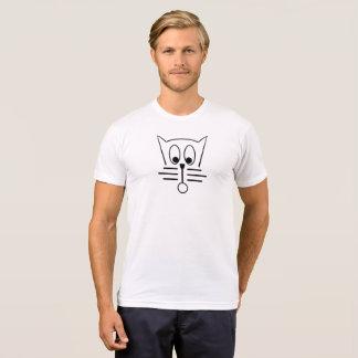 Lustiges Katzen-Gesicht T-Shirt