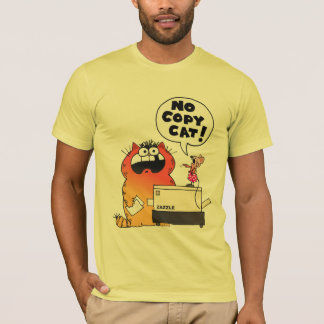 Lustiges lustiges Zazzle T-Shirt des Cartoon-|