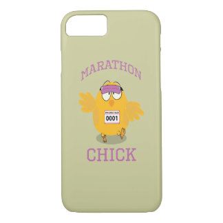 Lustiges Marathon-Küken iPhone 7 Hülle