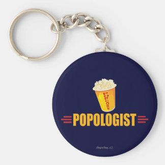 Lustiges Popcorn Schlüsselanhänger