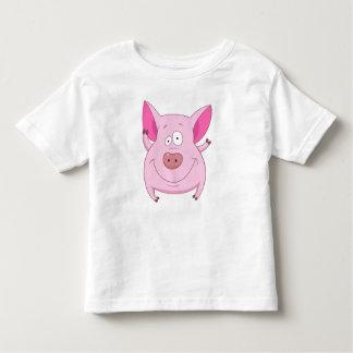 Lustiges Schwein Kleinkind T-shirt