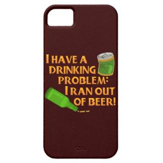 Lustiges trinkendes Bier iPhone 5 Cover