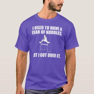 Lustiges Wortspiel über Hürden T-Shirt