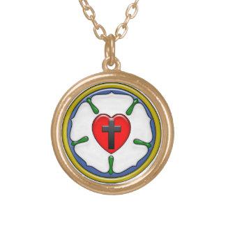 Luther Rosen-kleine runde Halskette