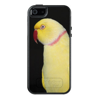 Lutino Inder Ringneck Parakeet-Pose OtterBox iPhone 5/5s/SE Hülle