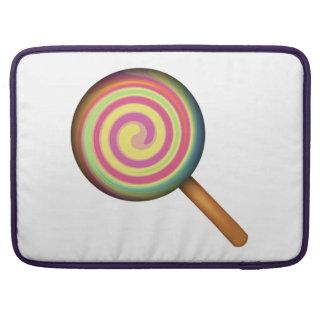 Lutscher-Süßigkeit - Emoji MacBook Pro Sleeve