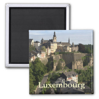 Luxemburg Quadratischer Magnet