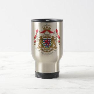 Luxemburg-Wappen Reisebecher