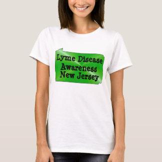 Lyme-Borreliose-Bewusstsein in New-Jersey T-Shirt