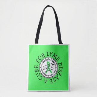 Lyme Krankheits-Bewusstseins-Taschen-Tasche