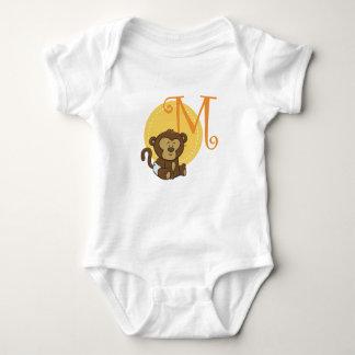 M ist für Affen Baby Strampler