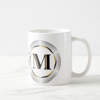 M-Monogramm für ihn Tasse