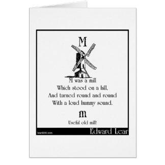 M war eine Mühle Karte