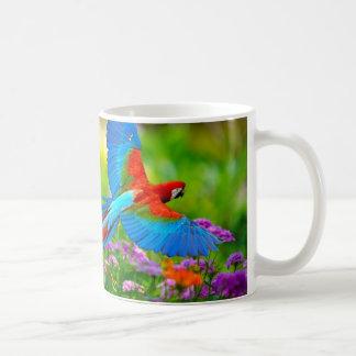 Macaw-Papagei Teetasse