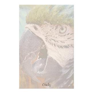 Macaw-Papageien-Vogel-Briefpapier Druckpapiere